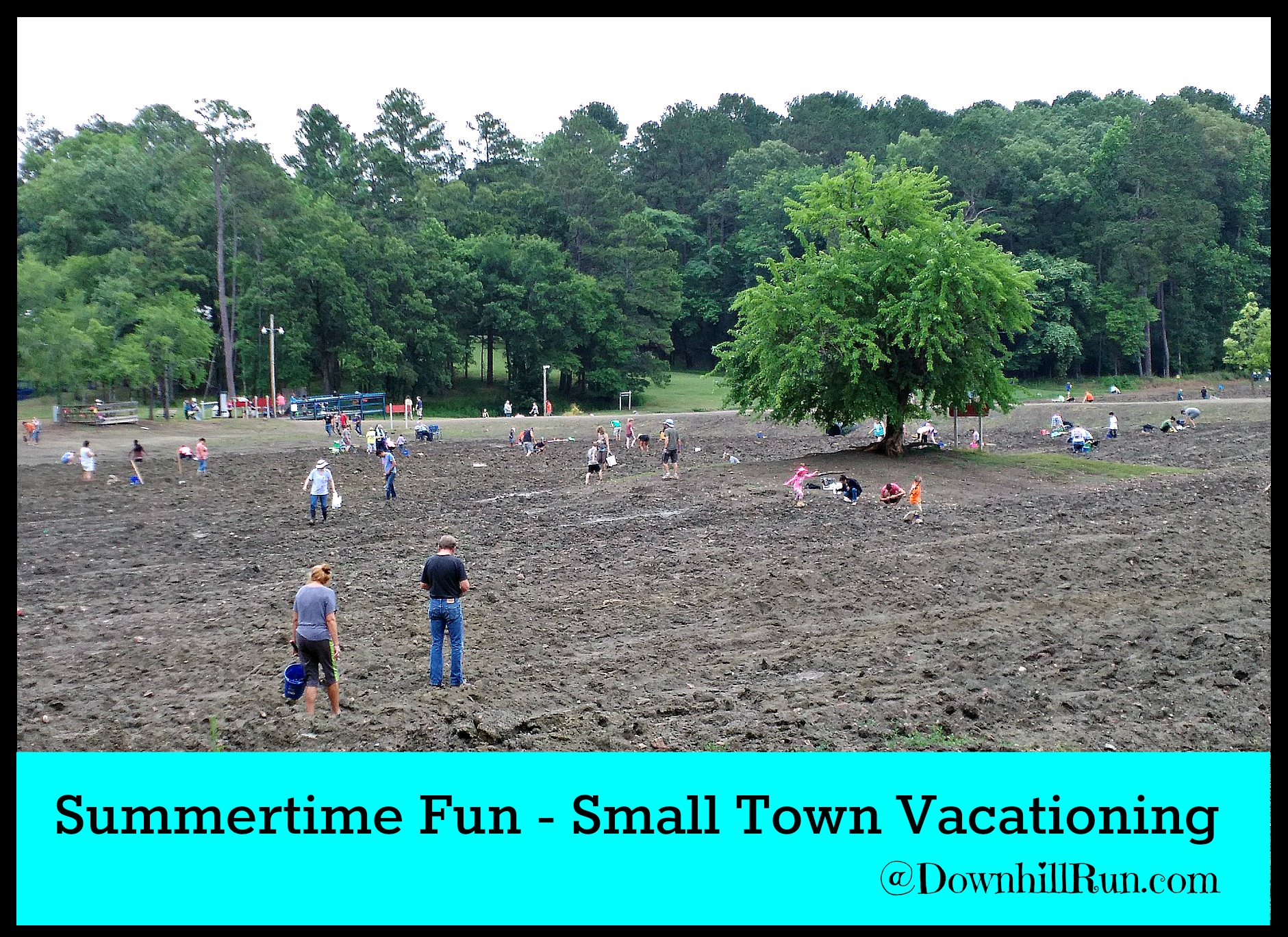 Summertime Fun Small Town Vacationing