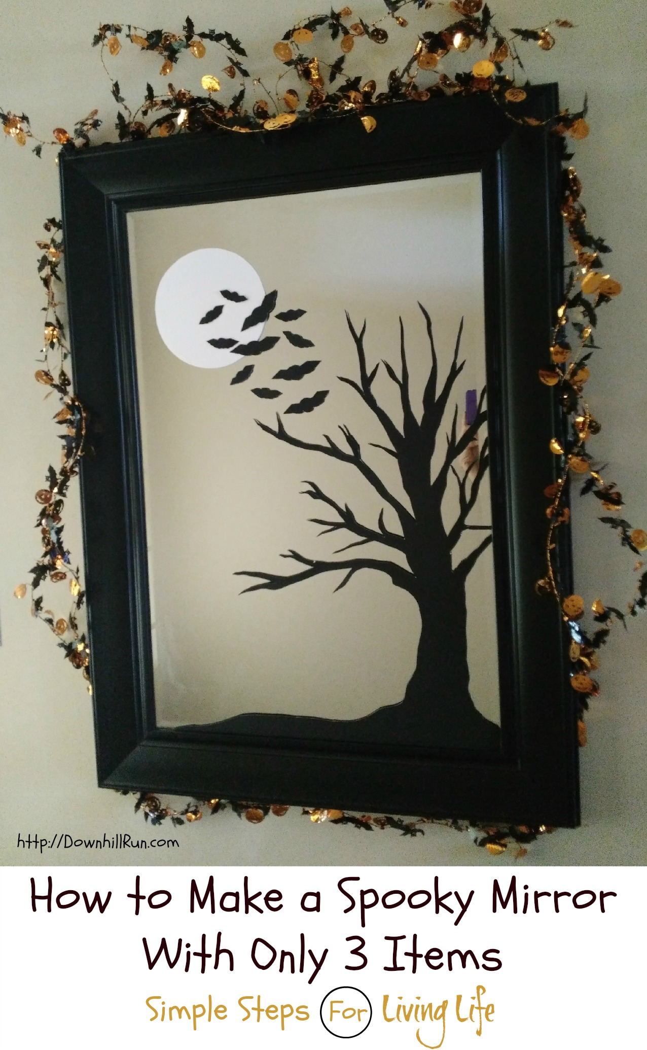 How To Make A Spooky Mirror With Only 3 Items