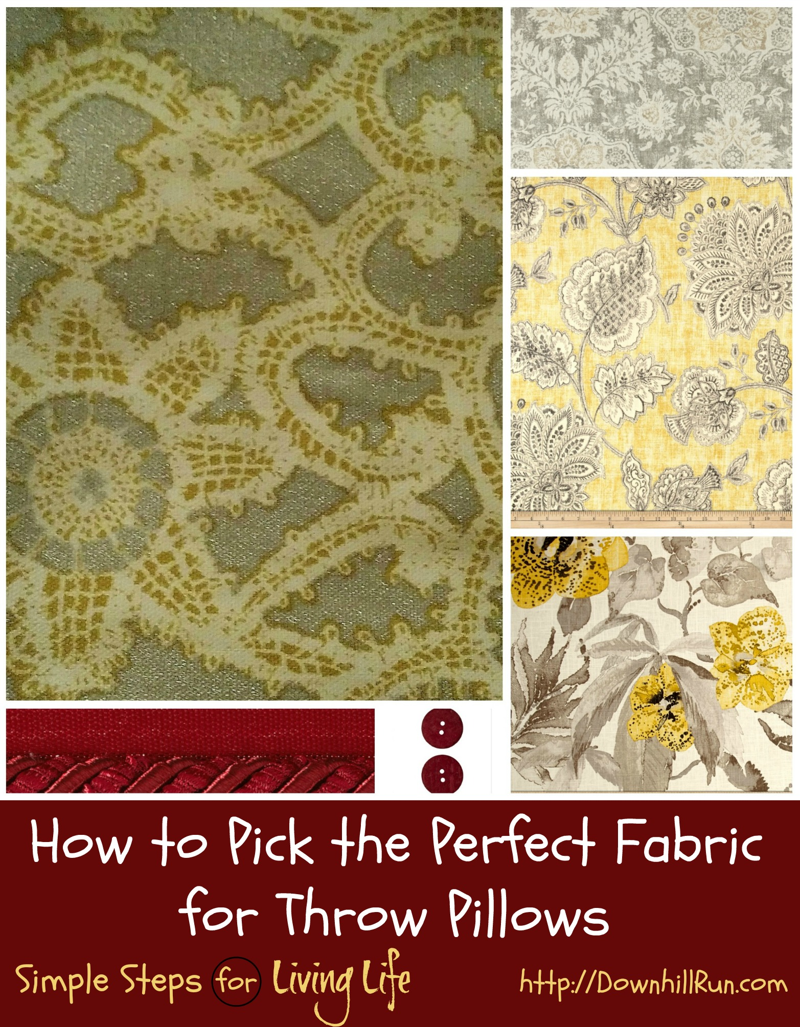 How to Pick the Perfect Fabric for Throw Pillows ...